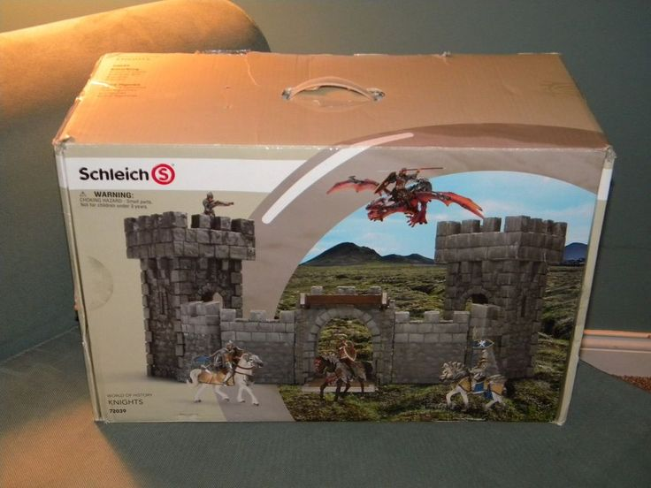 Schleich Ritterburg Castle 72039 Exclusive Grey  #Schleich