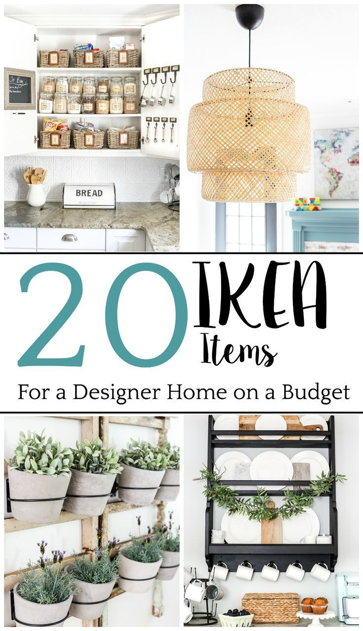 Die Top 20 IKEA-Artikel, die High-End für einen niedrigen Preis aussehen, um ein Haus, das