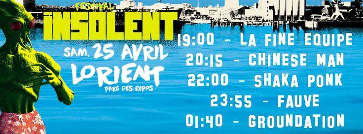 Festival insolent 2015 Sa approche !