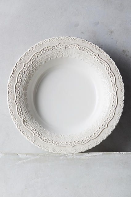 Anthropologie Merletto Soup Bowl