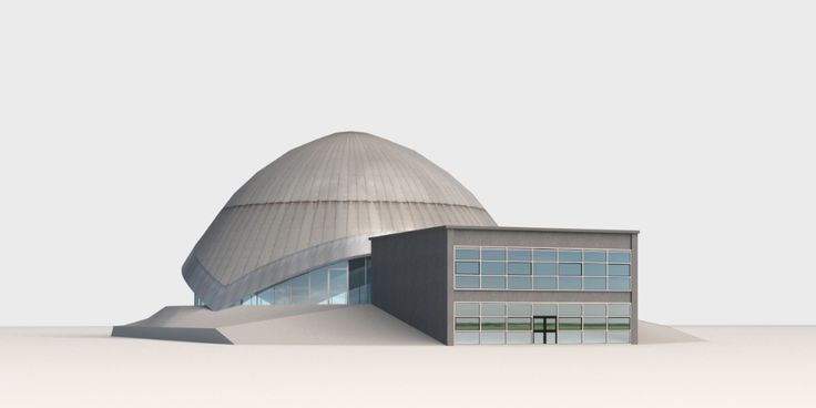 3D Model Planetarium Bochum | c4d 3ds max skp dae - 3D Squirrel