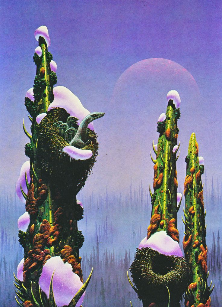 TIM WHITE - art for Mission to Moulokin by Alan Dean Foster - 1979 New English Library