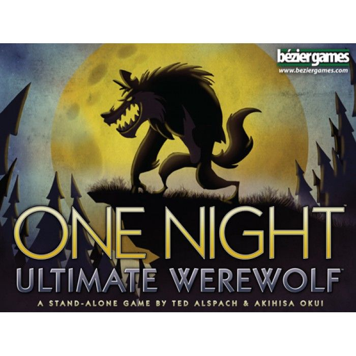 One Night Ultimate Werewolf Category: Deduction Bluffing Mechanics: Variable Player Powers