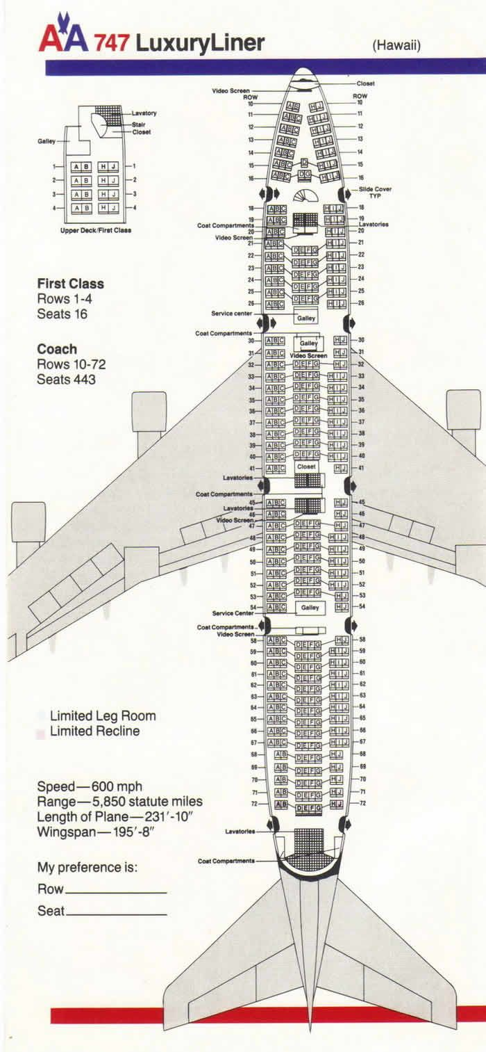 united airlines seating assignments