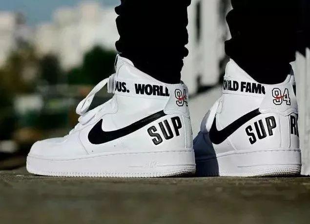 246ff85694 ... Tênis Nike Air Force Supreme Botinha Academia - R 98