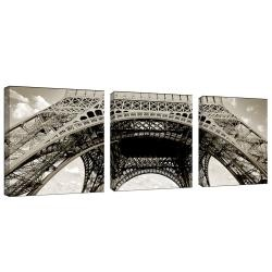 @Overstock - See the Eiffel Tower in a whole new way with this photographic canvas art set. Featuring a photograph of the Eiffel Tower taken by Preston, this bold print set can be displayed horizontally to turn a boring wall into an intriguing space.http://www.overstock.com/Home-Garden/Preston-Tour-de-Eifel-3-panel-Art-Set/5515342/product.html?CID=214117 CAD              150.87