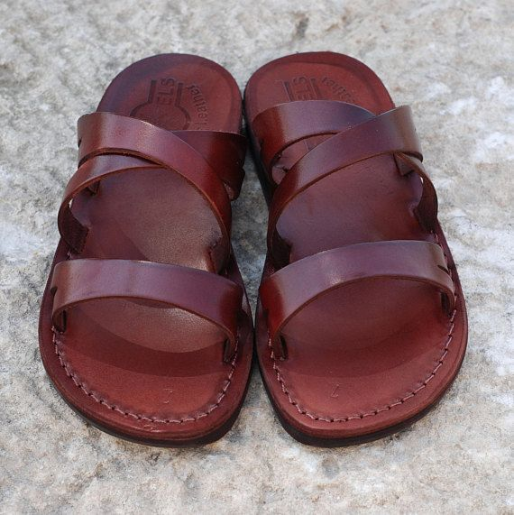 brown leather sandals leather sandal greek sandals leather