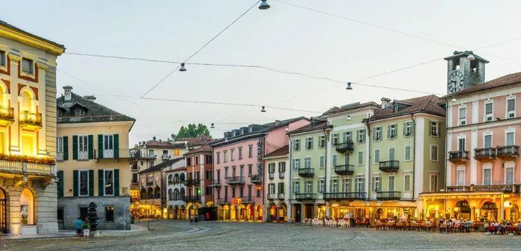 Piazza Grande - Locarno, Switzerland