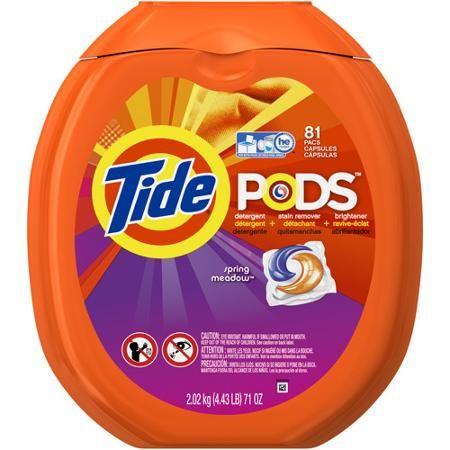 Tide Pods Laundry Detergent Pacs, 81 count (Choose Your Scent) - Walmart.com