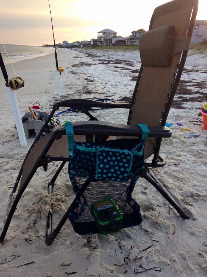 Thirty-One On A Stroll Bag ... Use it on your beach chair to keep all your stuff out of the sand.