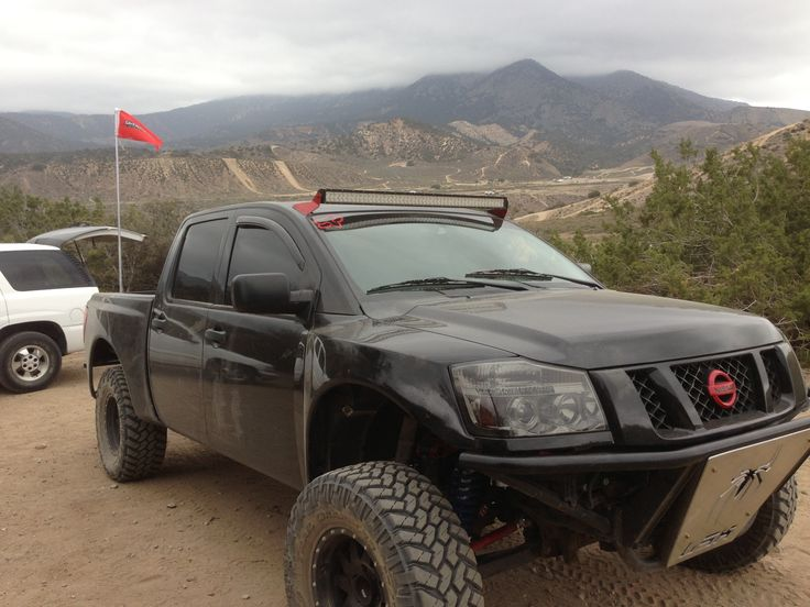 2004 to 2014 Nissan Titan Front Fenders with 4″ Flare and 3″ Rise | Glassworks Unlimited