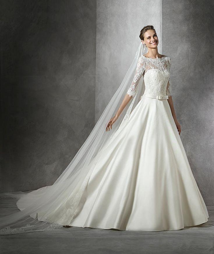 Toricela, robe de mariée simple, silhouette sirène