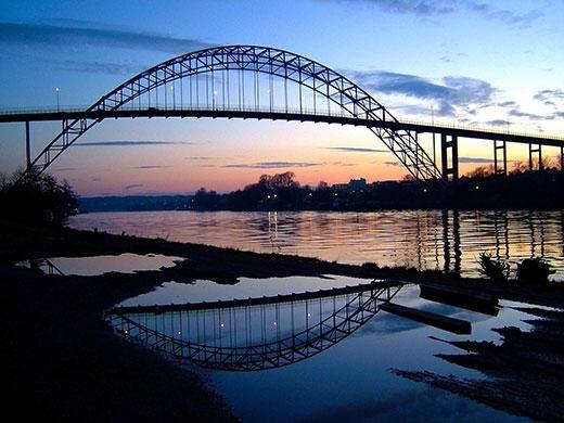 """""""@DonRamer: Fredrikstad Bridge   #BeTheBridge #Bridge """""""