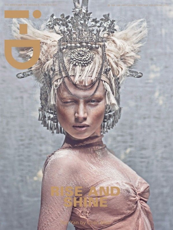 i-D Magazine Covers- Chen Man-6 & Terry Barber