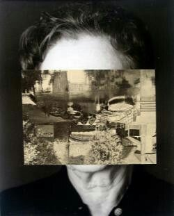 John Stezaker Old Mask III  2006  Collage  24.5 x 19.5 cm