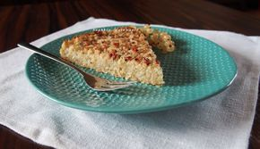 Ciasto kokosowo-owsiane z cukinią, bez mąki, jaj i tłuszczu (bezglutenowe, wegańskie)