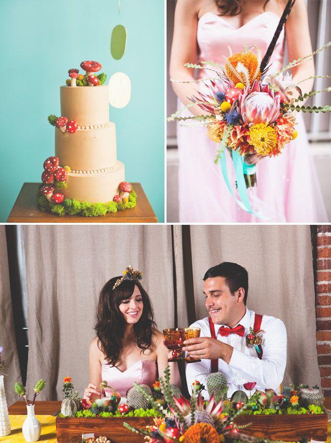 Свадьба в стиле игры Супер Марио