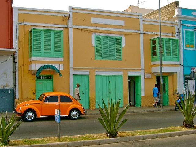 Mindelo, São Vicente, Cabo Verde by Daniel Morlim, via Flickr