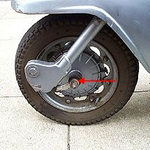 General Maintenance - Lambretta Front Wheel