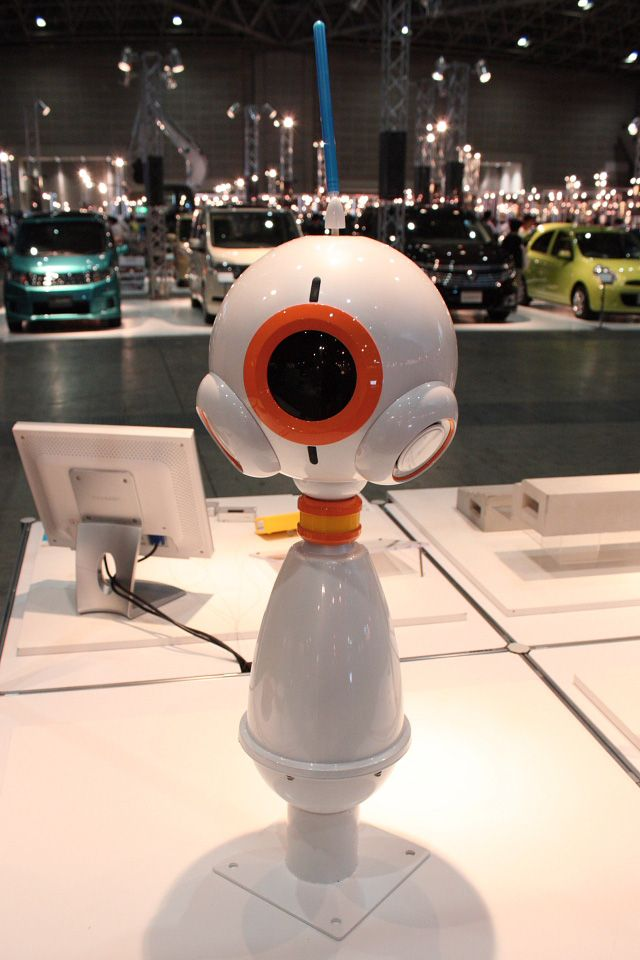 Centry Security Robot Has Its Eye On You Роботы