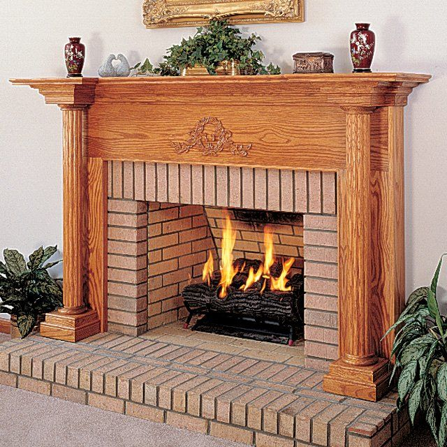56 Best Traditional Wood Mantels Images On Pinterest Fireplace Mantel Surrounds Fire Places
