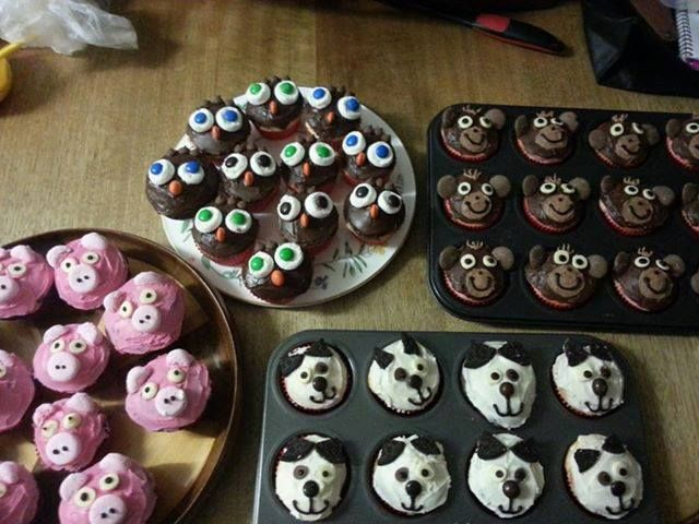 Lots of yummy treats by Lydia for Cupcake Day http://www.rspcacupcakeday.com.au/