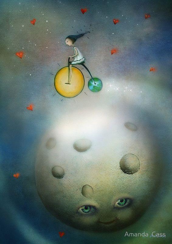 Over the Moon, Amanda Cass