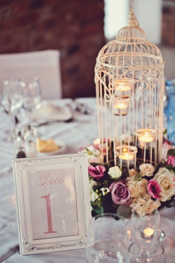 Nathalie and Dan's Pretty Pink Chester Wedding by Claire Penn #wedding #ideas #table