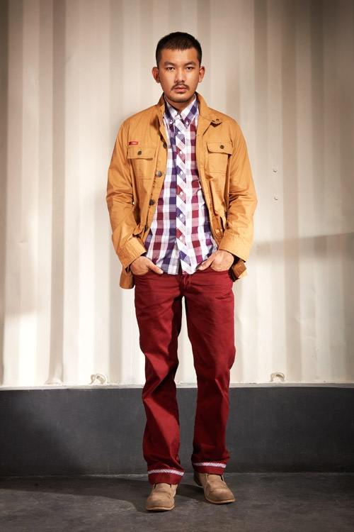 Man Keylook #3 - Lee Cooper