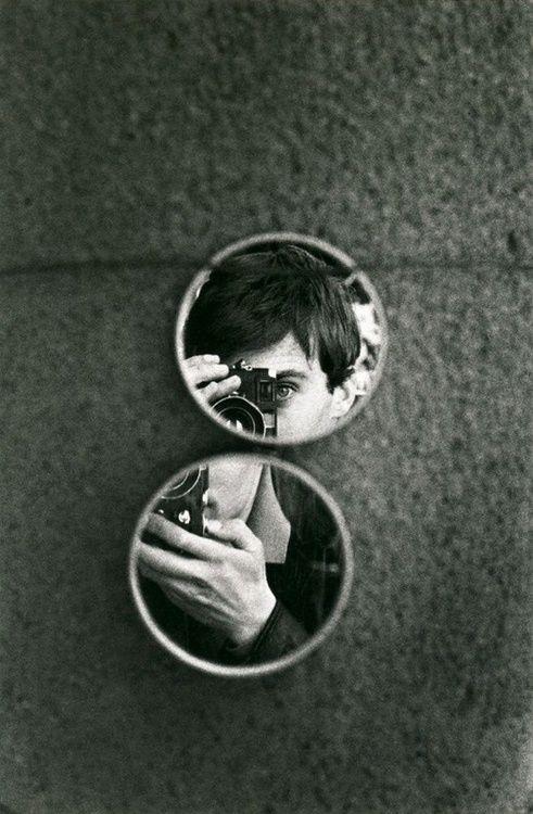 Jeanloup Sieff - Self-portrait.