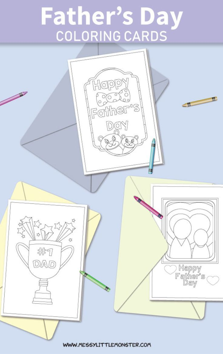 Printable Father S Day Cards To Color Fathers Day Cards Father S Day Card Template Father S Day Diy