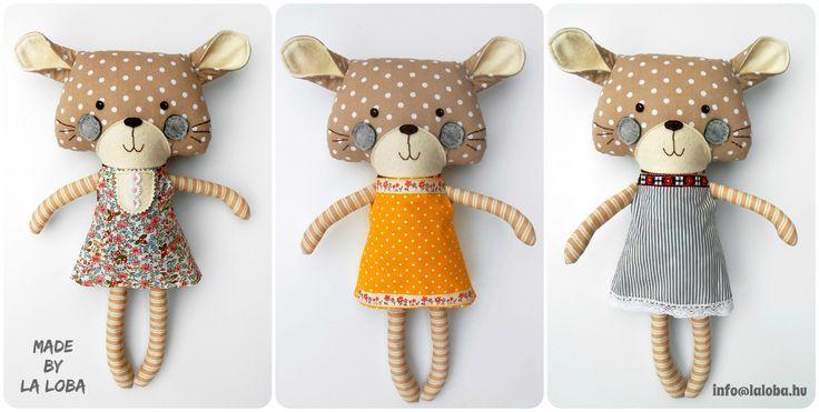 dress up cat, plush dress up, ragdoll, play set, la loba design: dollsanddaydreams