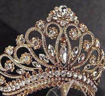 Unique Handmade Princess Tiara Crown Wedding By Lesense