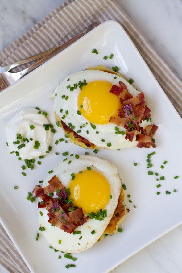 Dad's Mashed Potato Pancakes Recipe - Aida Mollenkamp. Yum!