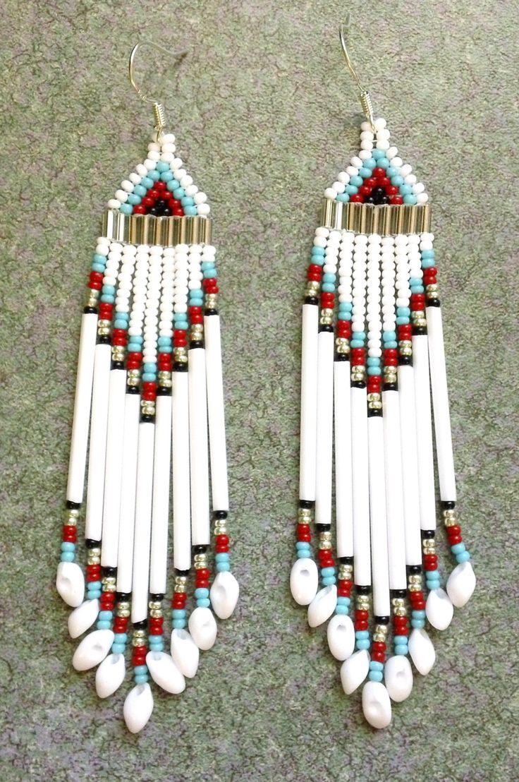 Native American Beaded Earrings.