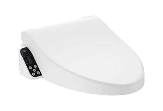 Cascadia Smart Toilet Seat With Remote Control By Pacific Bay Features Bidet Unlimited Heated Water A Heated Seat A Heated With Images Smart Toilet Toilet Seat Bidet