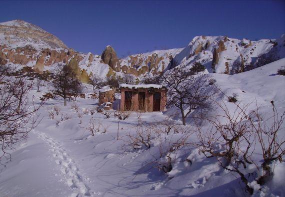 Raquettes en Cappadoce - Turquie