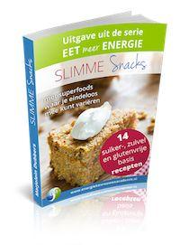 Slimme Snacks zijn heerlijke suikervrije, zuivelvrije en glutenvrije snacks die je met een gerust hart kunt eten. Ze houden je bloedsuikerspiegel in balans en zorgen dus voor een gezond gewicht. Lees hier meer http://energiekevrouwenacademie.nl/slimme-snacks-aanbieding/