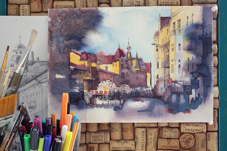 Сообщество творческого выдоха - Уличные зарисовки.