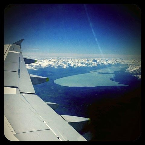 #Balaton #Hungary #Europe #aeroplane #earth
