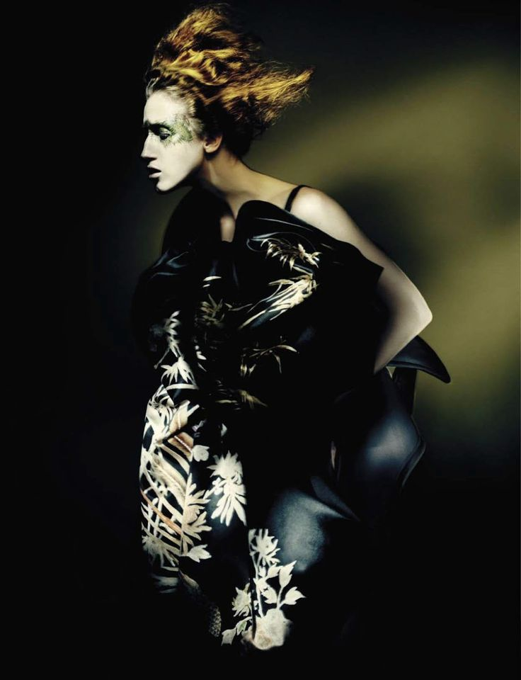 visual optimism; fashion editorials, shows, campaigns & more!: haute couture: marjan, anna, lineisy, kasia, greta and molly by paolo roversi for vogue italia couture supplement september 2015