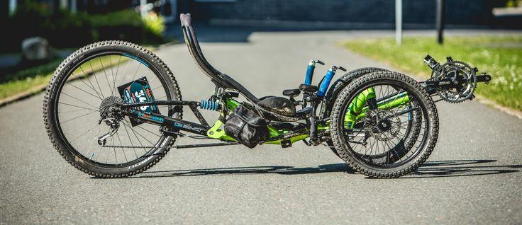 Trike der Woche: HP Velotechnik Scorpion fs 26 von Franzi Meyer - MTB-News.de