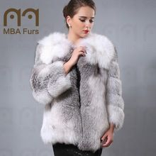 Genuine Wholehide Fox Fur jacket, Fur coat, Fashion Outerwear  Best Seller follow this link http://shopingayo.space