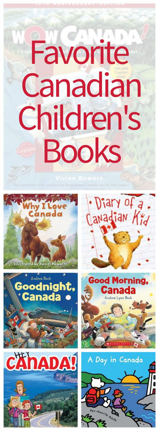I love books and I encourage my children to read books. Living in Canadian, I am quick to grab up Canadian children's books, and books written by Canadians.