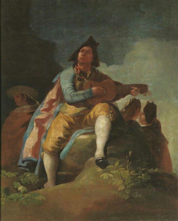 ¿Por qué Goya era el mejor? Primero: modernizó la forma de usar el pincel. Aquí se ve en los pliegues de la ropa. Este post lo explica.