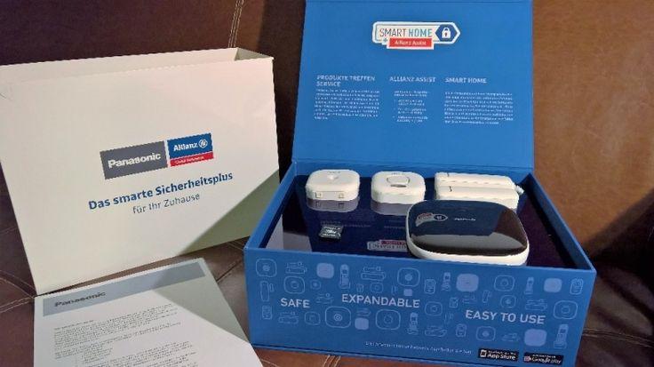 Panasonic DECT Smart Home Zentrale mit Allianz Assist Service im Test
