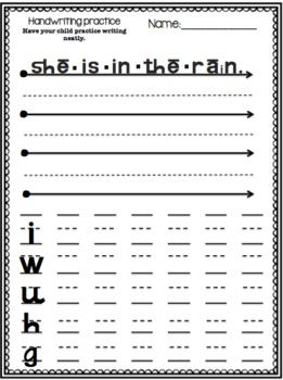 Need extra homework to work on specific skills? Perfect for literacy stations, morning work, or homework, Your students will love practicing their coloring rules will firming up on sound identification. This packet includes - 8 Irregular Words-14 Read CVC Words/Circle the Word-2 Blending Words with Quick Sounds-38 Handwriting Practice Sheets-5 Simple Practice Sentences-21 Short Comprehension StoriesPLEASE NOTE:Reading Mastery is developed by SRA and published by McGraw-Hill and part of the…