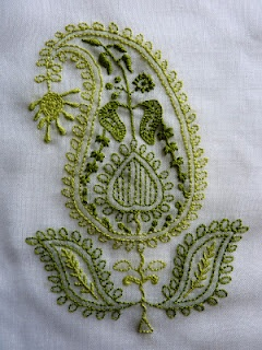 Paisley Embroidery Love paisley designs