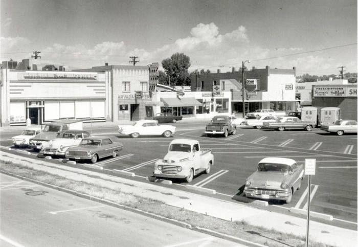 Downtown Arvada Co In The 1960 S Arvada Colorado Colorado Old Photos