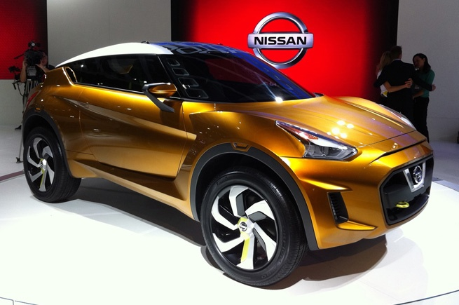 The new Nissan Extrem SUV Concept (rear)
